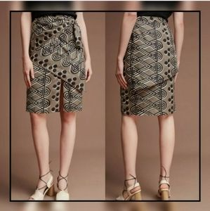ANTHROPOLOGIE Maeve Women's Tribal Tiered Skirt